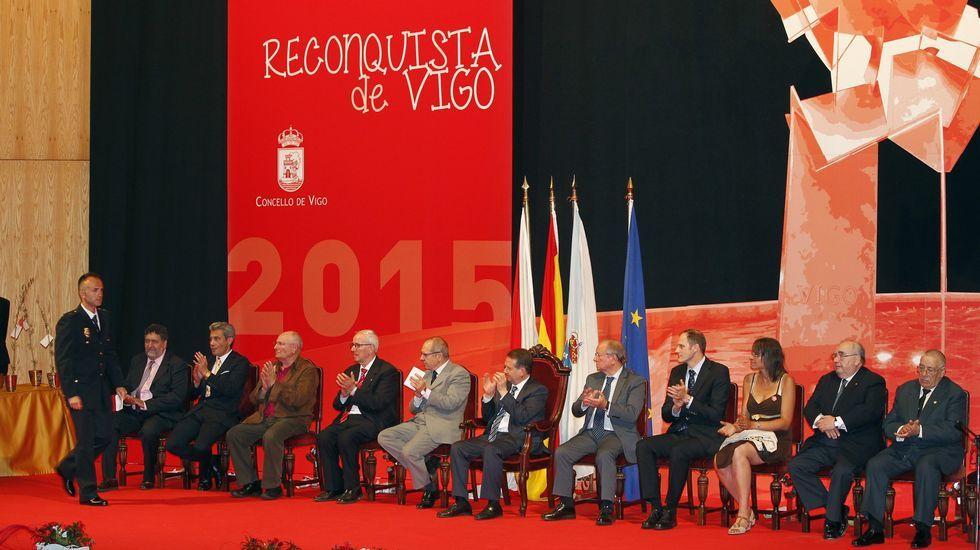 Gala de entrega de los Vigueses Distinguidos del año pasado