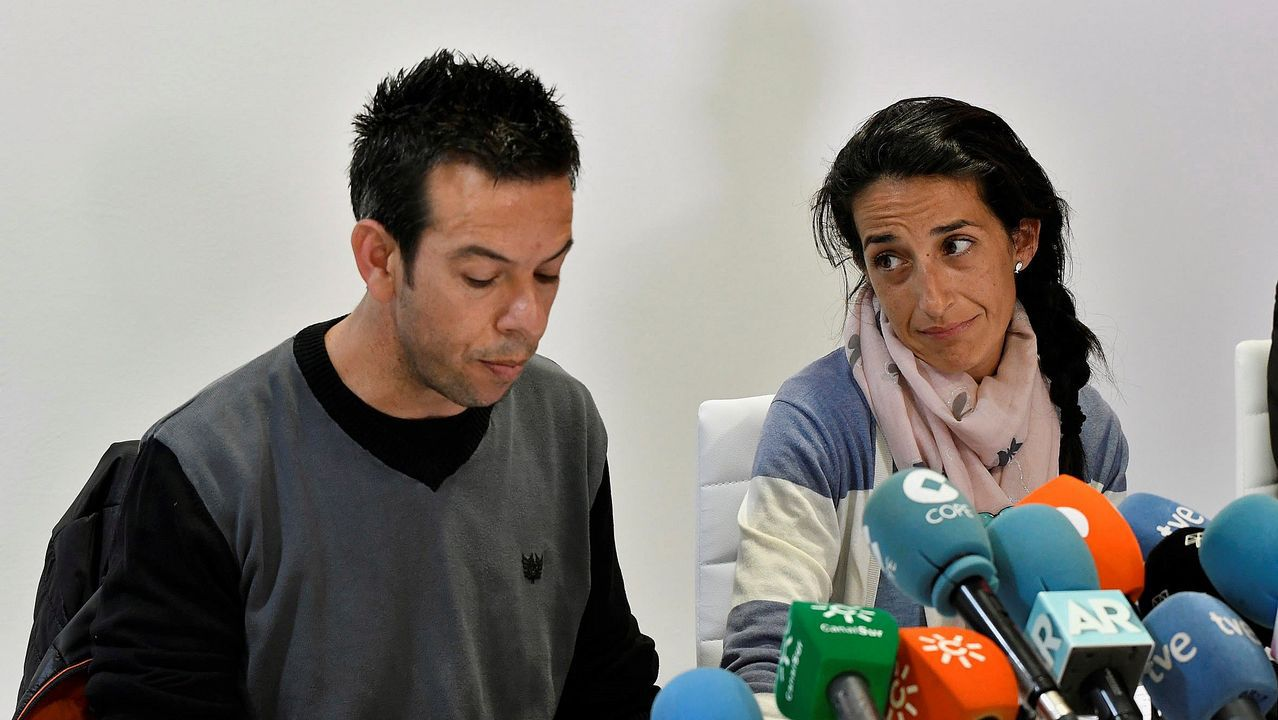 ¿Mató también Ana Julia a su hija Ridelca?.Imagen difundida por la familia de Gabriel Cruz