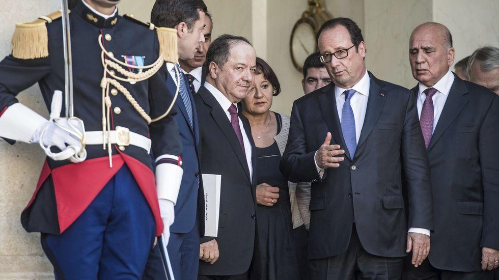 Graban el momento en que detienen a una de las tres yihadistas de París