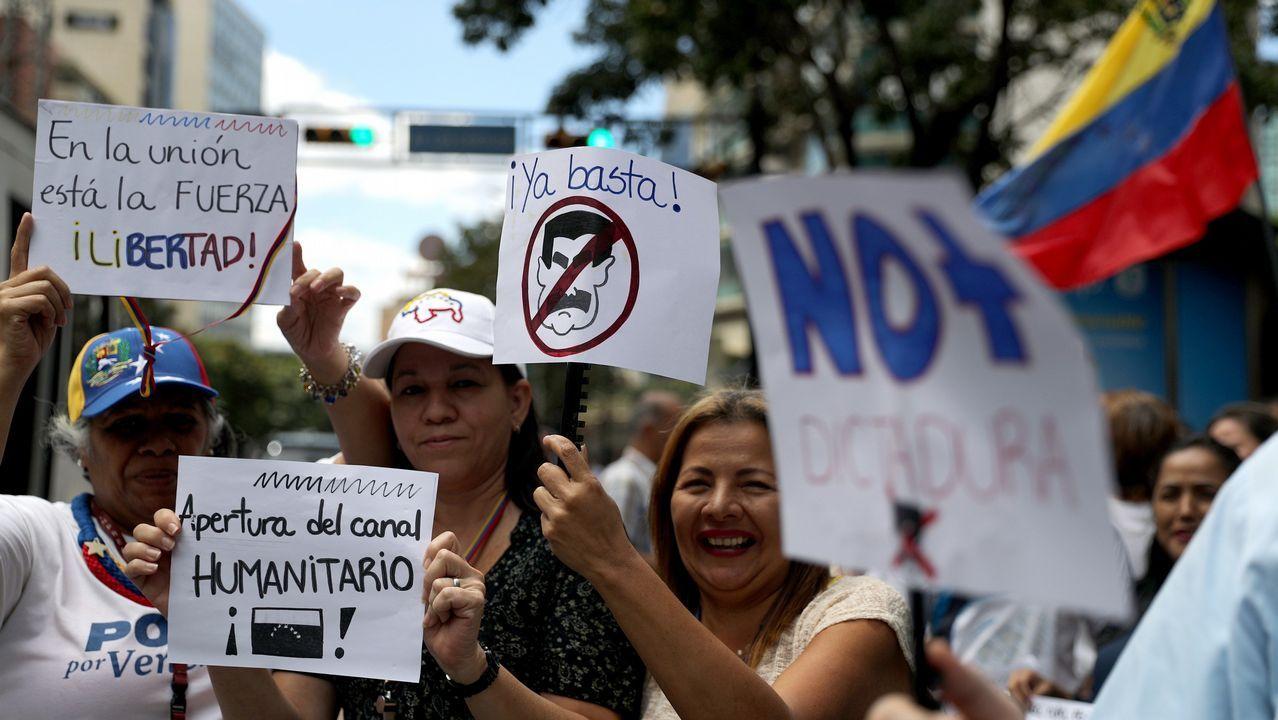 La oposición a Maduro vuelve a las calles