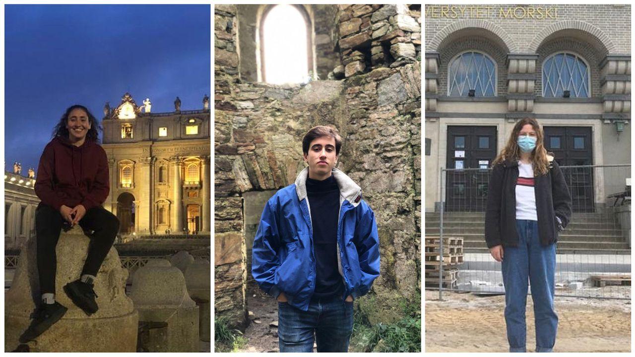 Samil, parcelado por el covid-19.Candela Del Nero frente al Vaticano