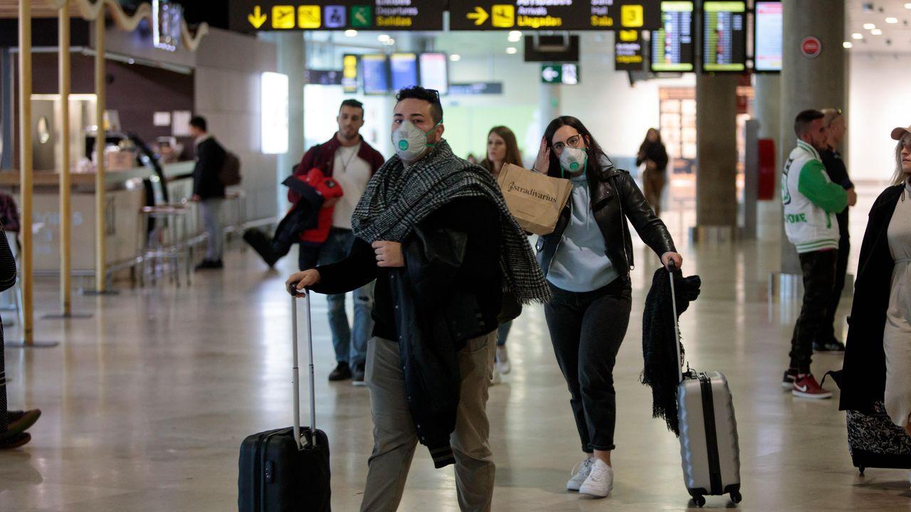 EN DIRECTO: primer positivo por coronavirus en Galicia. La consellería informa de todos los detalles.Oposiciones para celador del Sergas el pasado mes de marzo