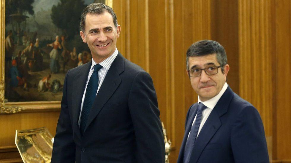El rey recibe en Zarzuela a la portavoz de En Marea en el Congreso.Diputación permanente del Congreso