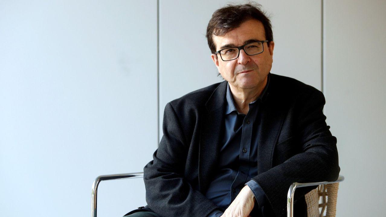 libros.Alberto Blecua era profesor visitante de las universidades de Harvard y La Sorbona. En la imagen, en una charla en la Fundación RBA