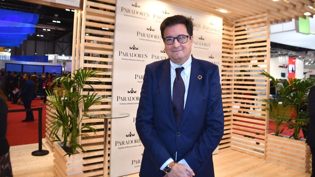 Óscar López, tras la presentación del Parador en la última edición de Fitur