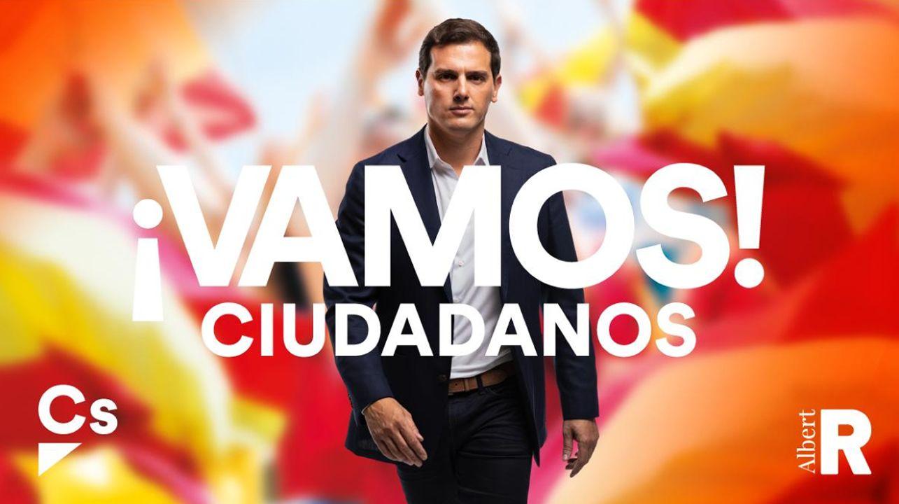 «Constitución española» será asignatura troncal obligatoria si Rivera llega a Moncloa.Papeletas