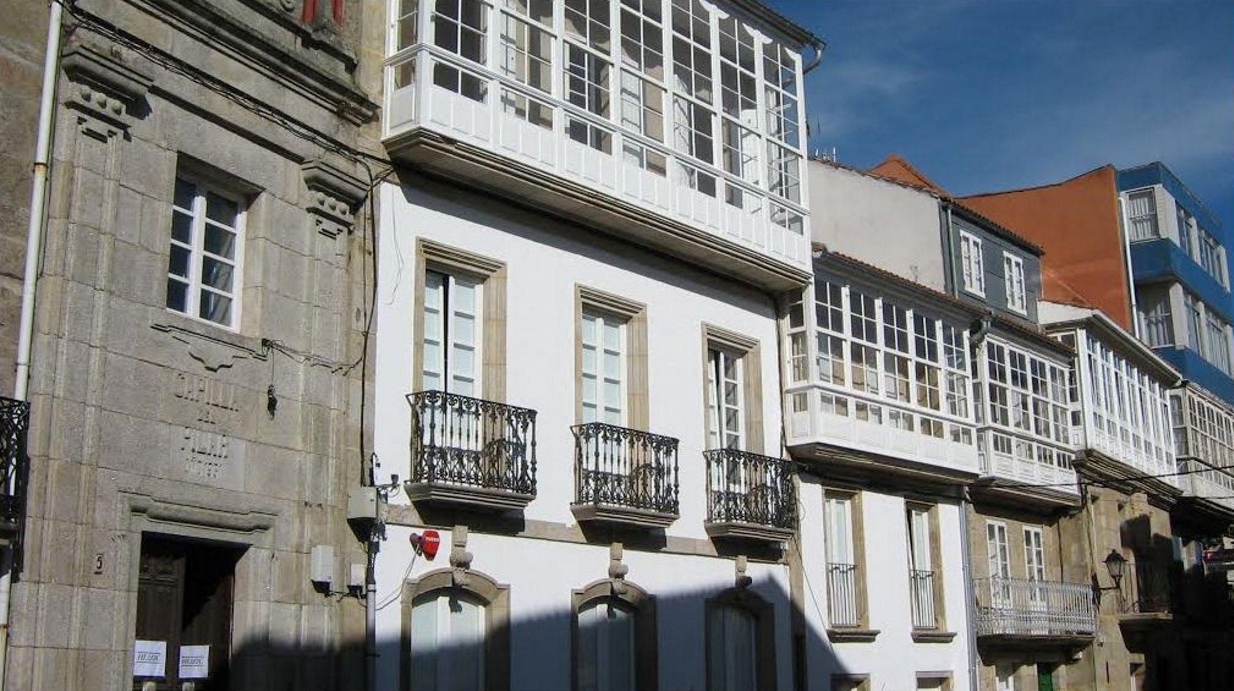 Casco histórico de Corcubión