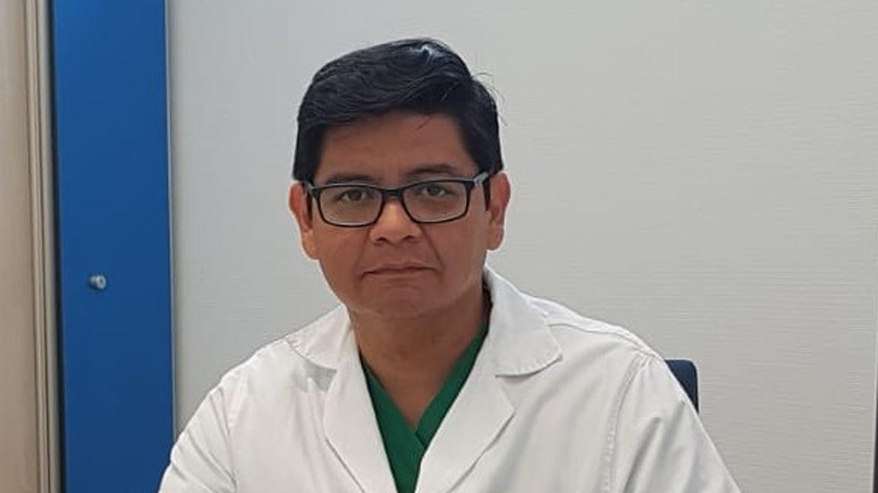Raymundo Ocaranza, hemodinamista en el HULA