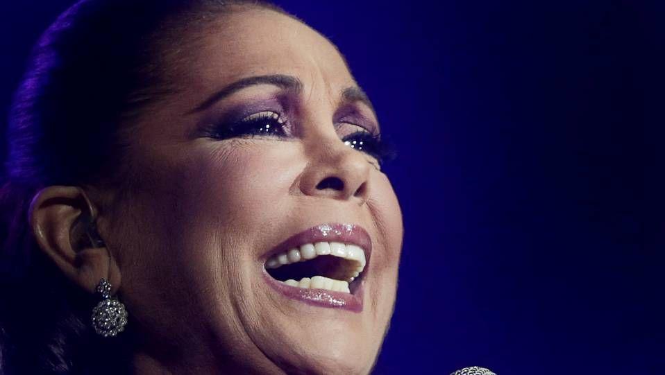 Isabel Pantoja en un concierto en diciembre en A Coruña.