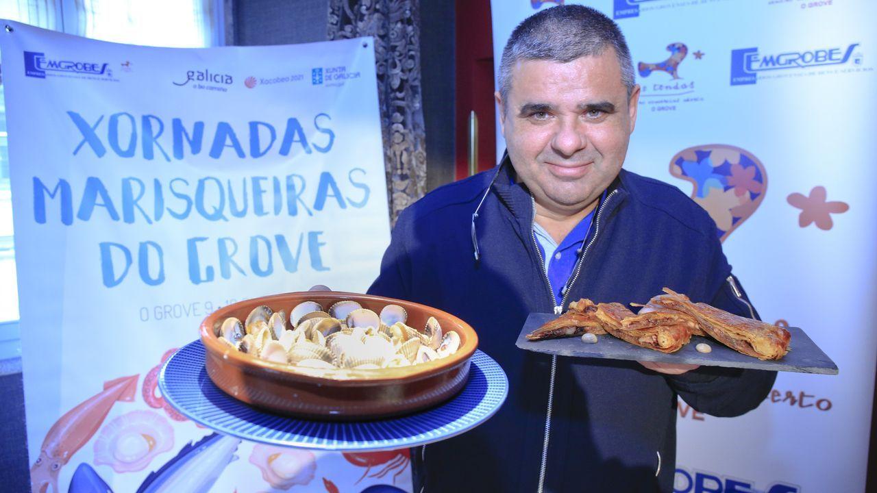 Pablo Agrelo presentó en Lugo las Xornadas marisqueiras
