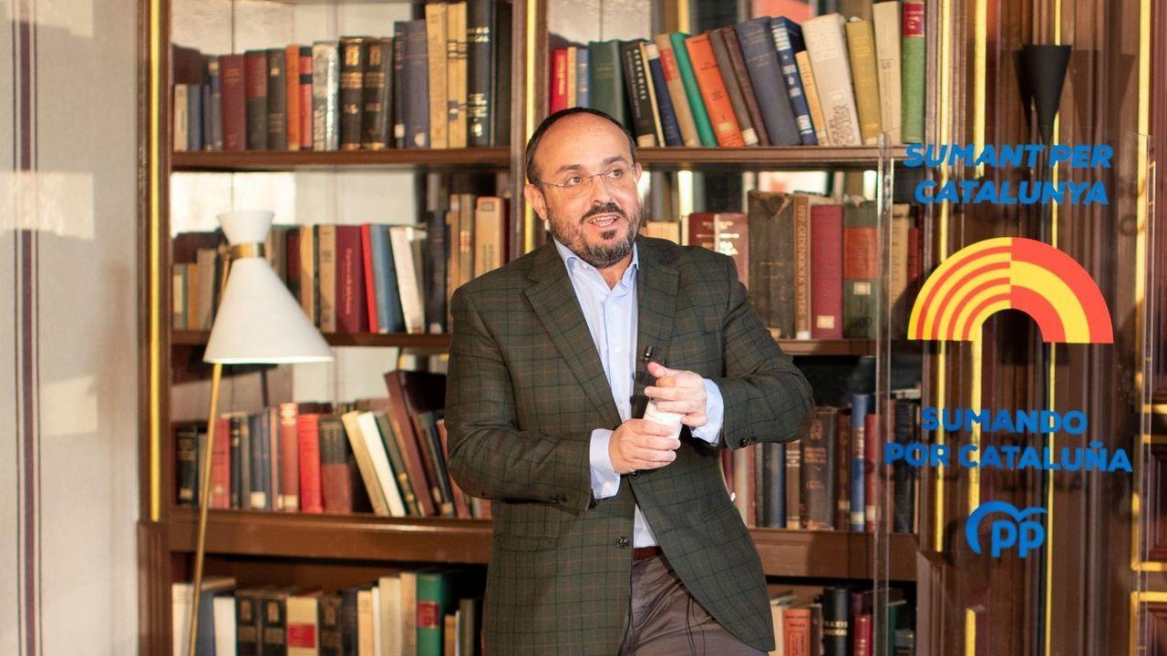 Alejandro Fernandez, candidato de los populares catalanes a la Generalitat