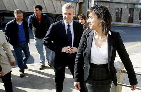 La cesión de terrenos en la feria data ya de marzo del 2012, y firmaron convenio Rueda y Fernández.