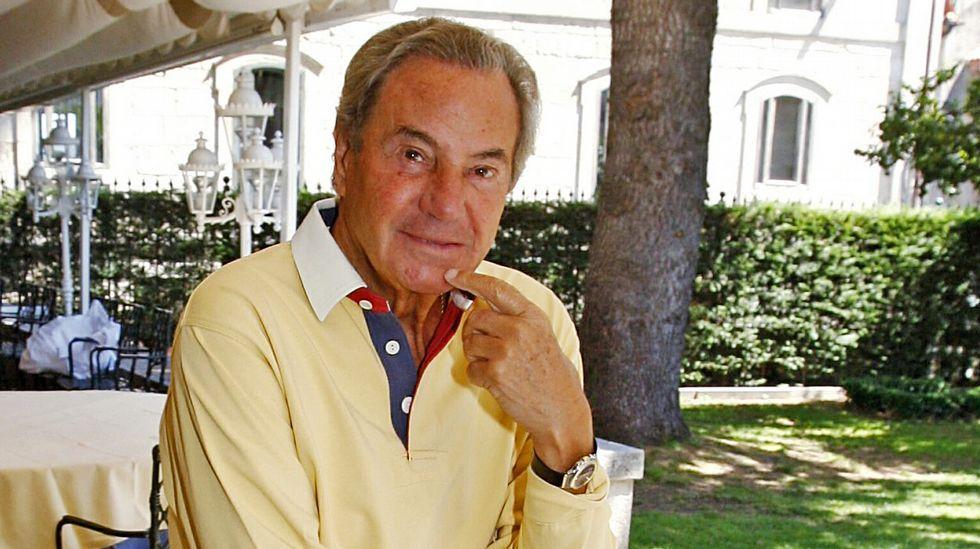 Fallece el eterno galán del teatro, Arturo Fernández.Arturo Fernández