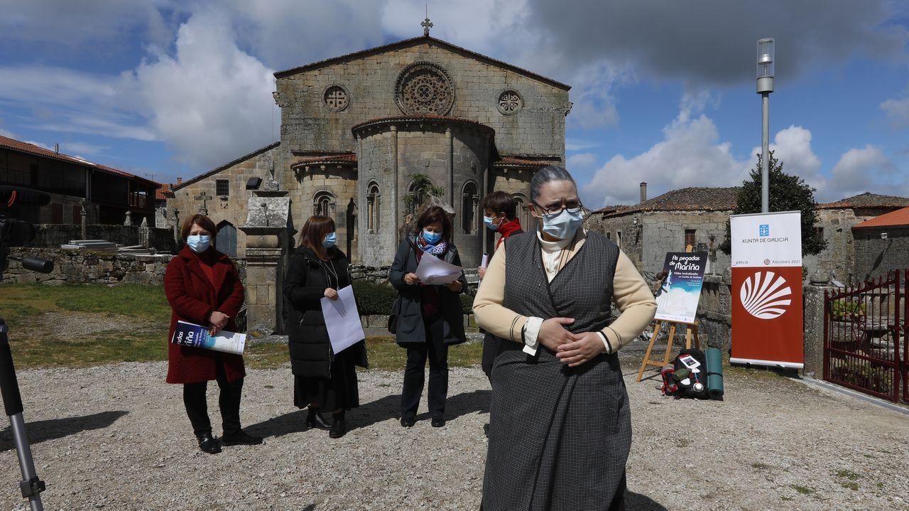 La presentación del proyecto en Pontevedra tuvo lugar ayer en la Casa das Campás