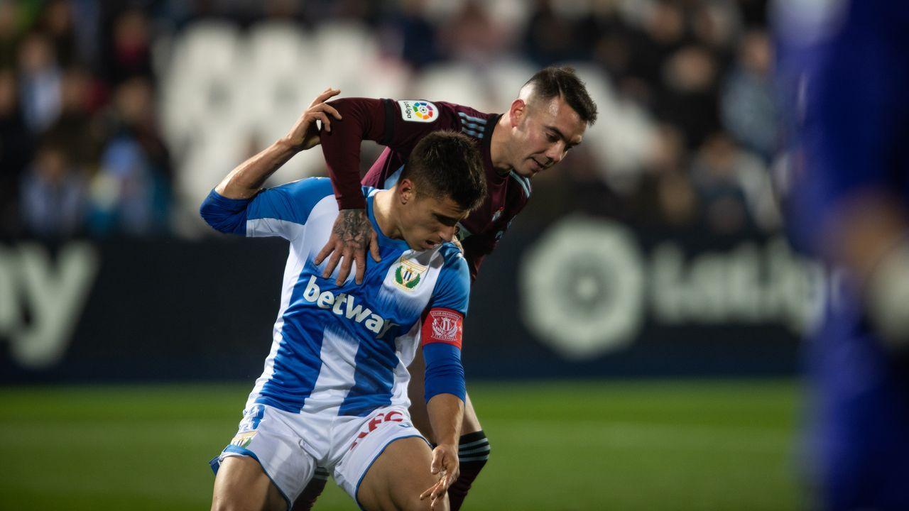 324 - Leganés-Celta (3-2) el 8 de diciembre del 2019