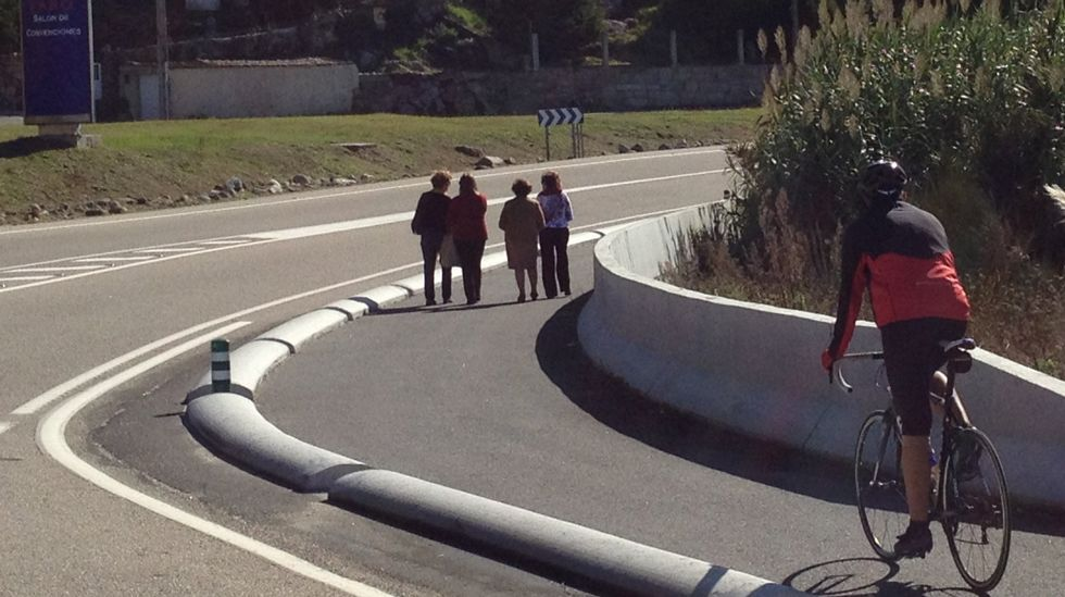 Tramo de carril bici de Baiona a A Guarda