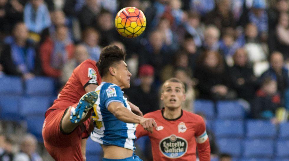 El Espanyol-Deportivo, en fotos