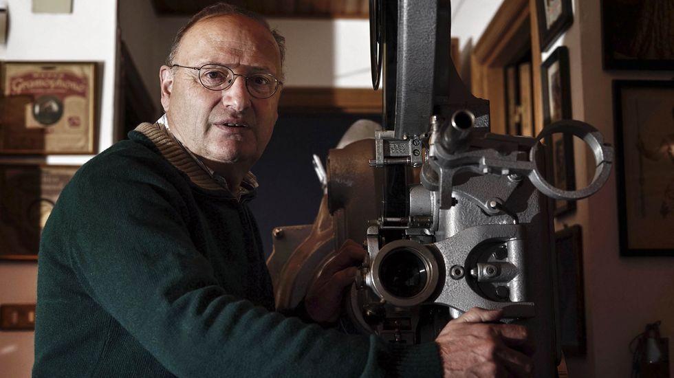 Ernesto Romero es el propietario del Novocine de Leiro