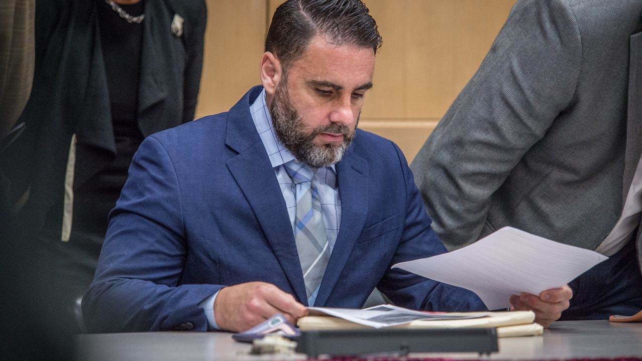 Pablo Ibar, en un momento del juicio