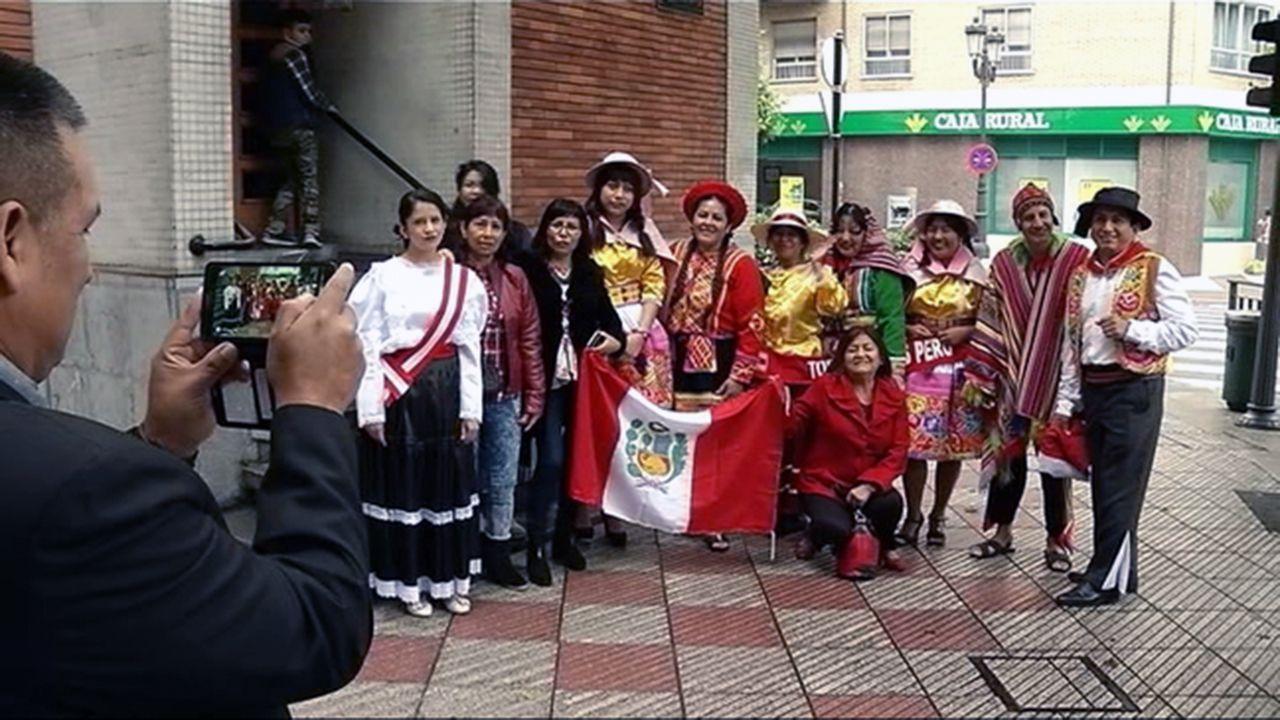 Incidentes en la frontera en Ureña, entre Colombia y Venezuela.Latinoamericanos celebran el Día de la Hispanidad en Oviedo