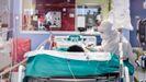 Un hombre ingresado en la uci de un hospital de Milán