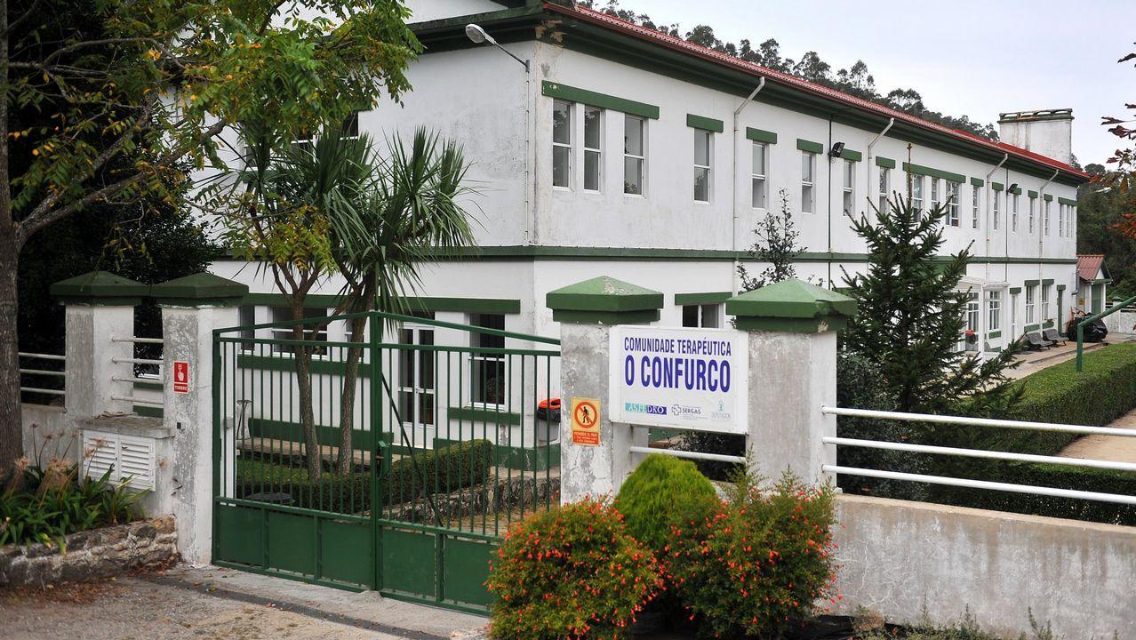 Algunos de los reclusos accedieron al tercer grado mediante su ingreso en la comunidad terapéutica de O Confurco