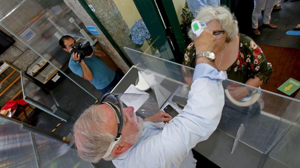 Nuevo protocolo para la recepción de peregrinos en los albergues del Camino de Santiago. No se le permitira la entrada con fiebre y se avisara a las autoridades sanitarias