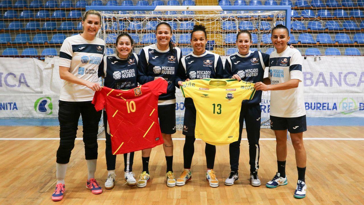 Jozi, Cami, Dany y Jane fueron citadas por Brasil para un amistoso contra la España de Ale de Paz y Peque, pero se canceló por el covid