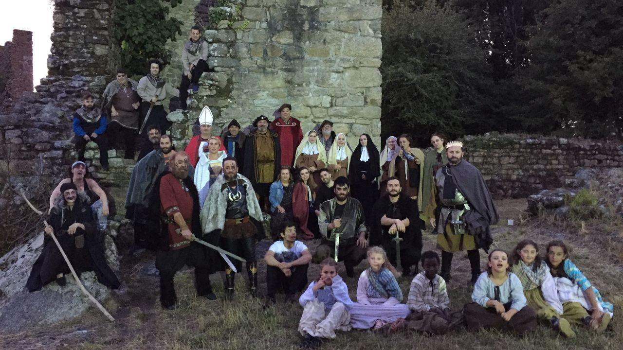 Las imágenes de la romería vikinga