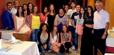 Los alumnos del Nuestra Señora del Carmen se despidieron del curso, del centro y de sus profesores.