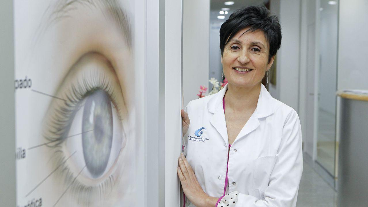 Ana González, directora del Instituto Gallego de Cirugía Ocular (IGCO)