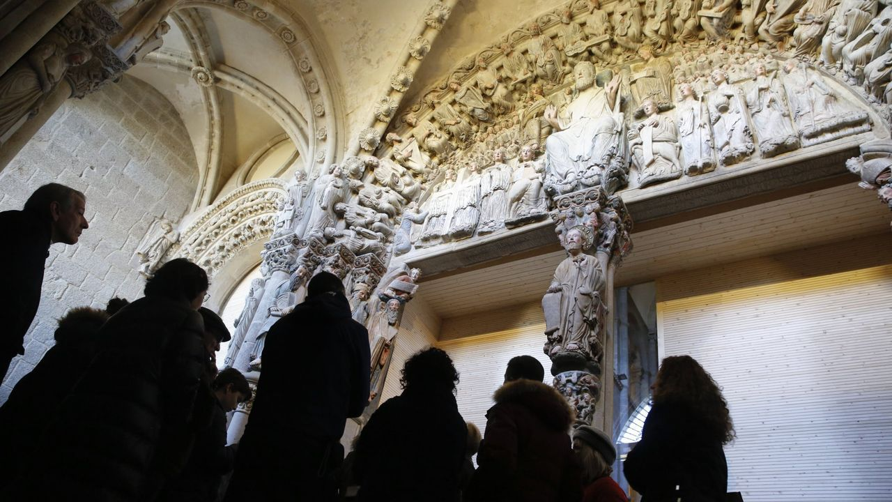 El patrimonio  retornado  de Santiago.Primeros peregrinos que visitan los albergues del Camino de Santiago tras el confinamiento