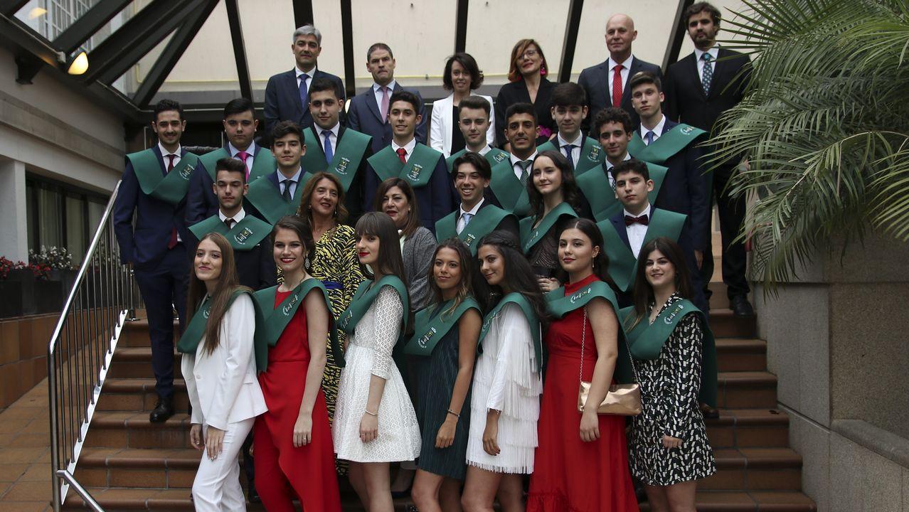Graduados del Liceo La Paz