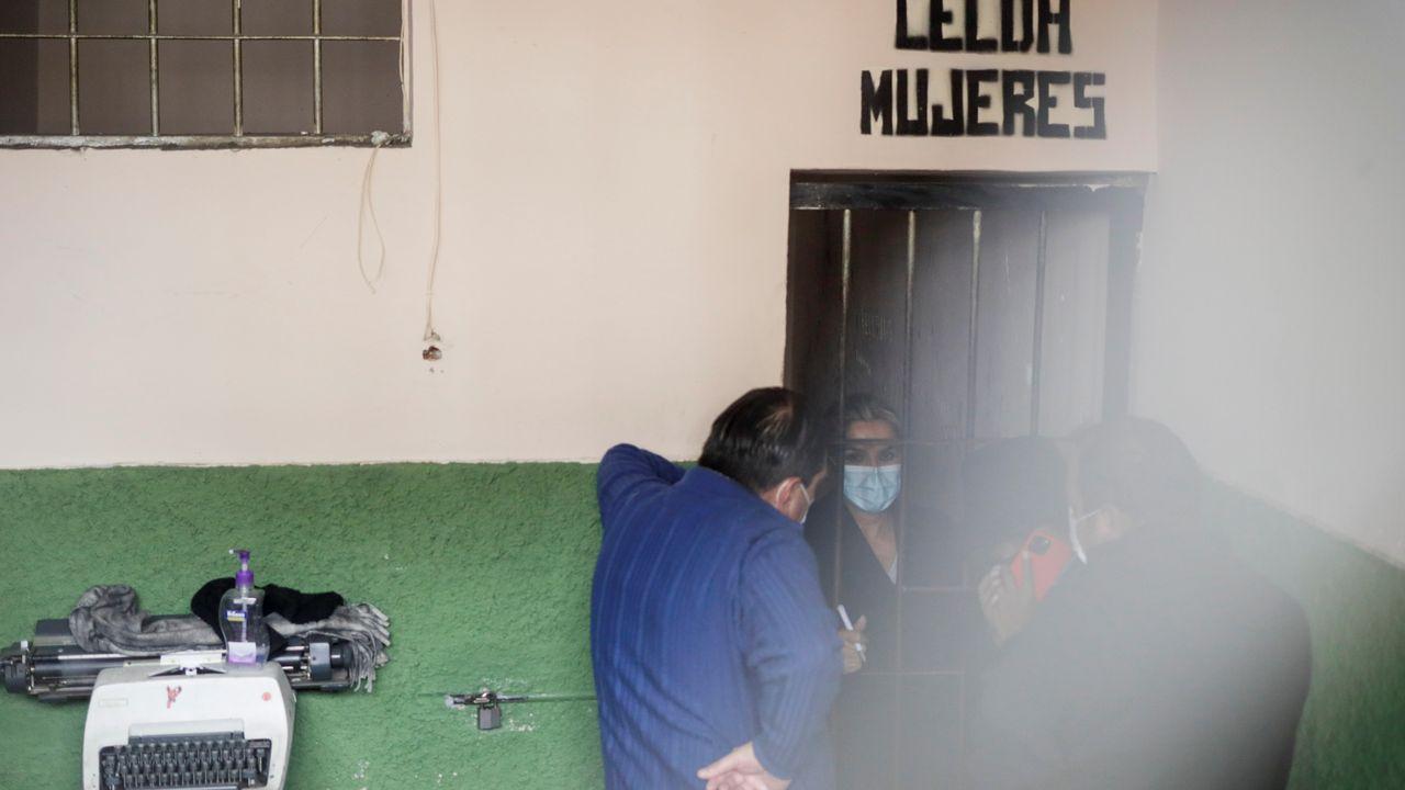 La expresidenta interina de Bolivia, Jeanine Áñez, en una imagen de archivo