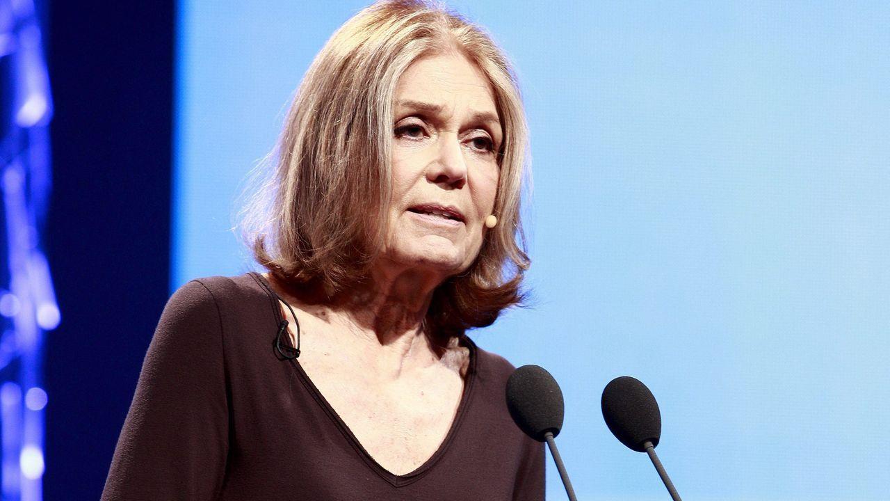 Concierto de campanas en Oviedo.Fotografía de archivo (27/05/2011) de la escritora feminista Gloria Steinem
