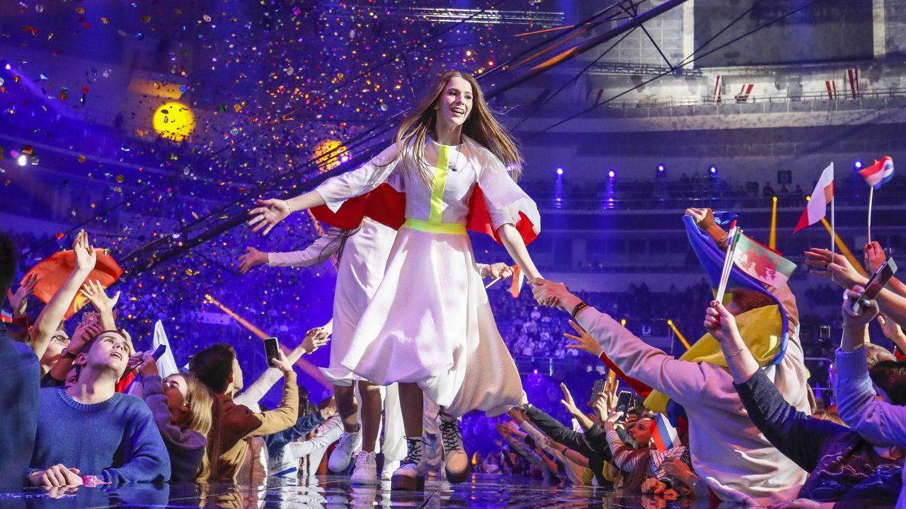 Roksana Wegiel, de Polonia, ganó la última edición de Eurojunior