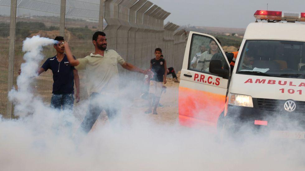 Conflicto entre palestinos e israelíes