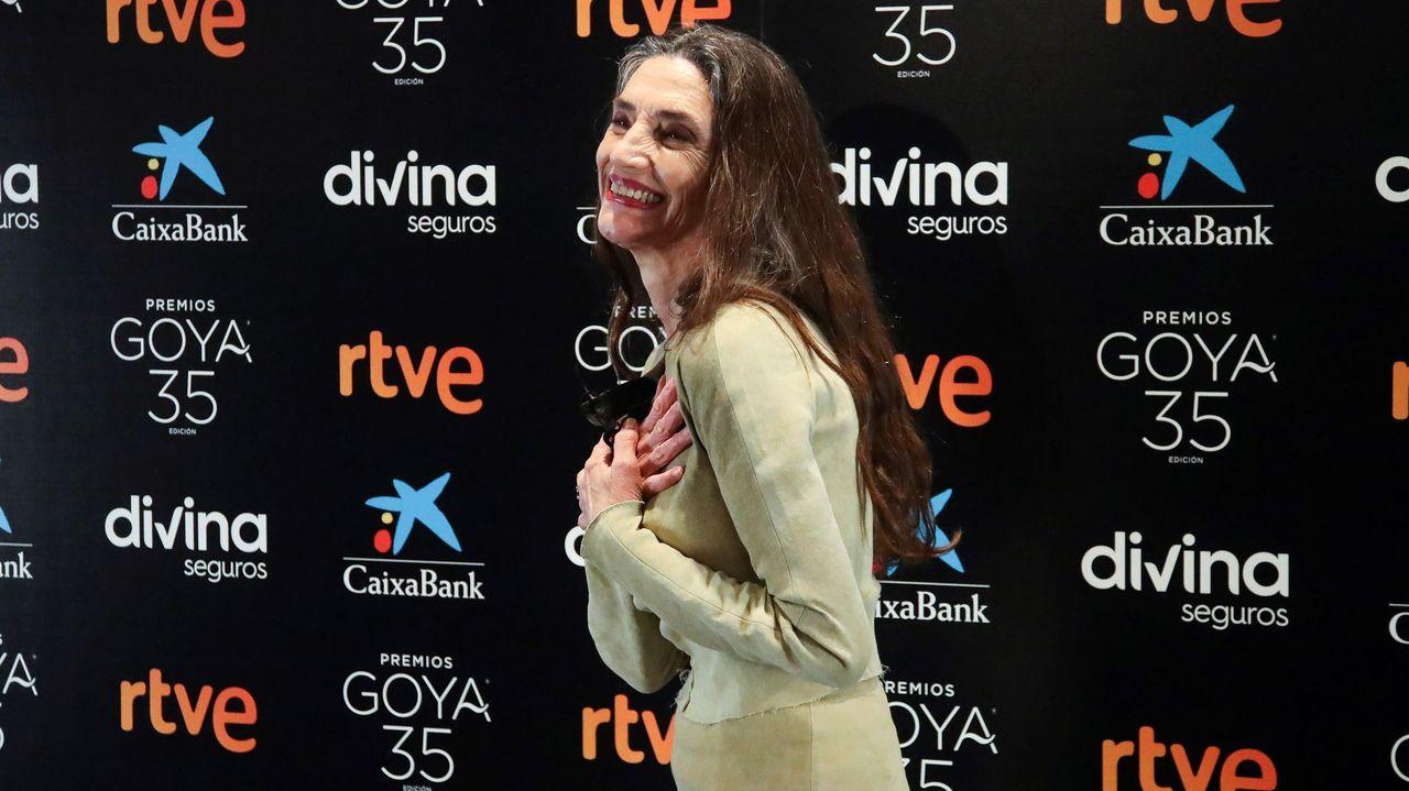 La alcaldesa de Marbella, Ángeles Muñoz, en una rueda de prensa