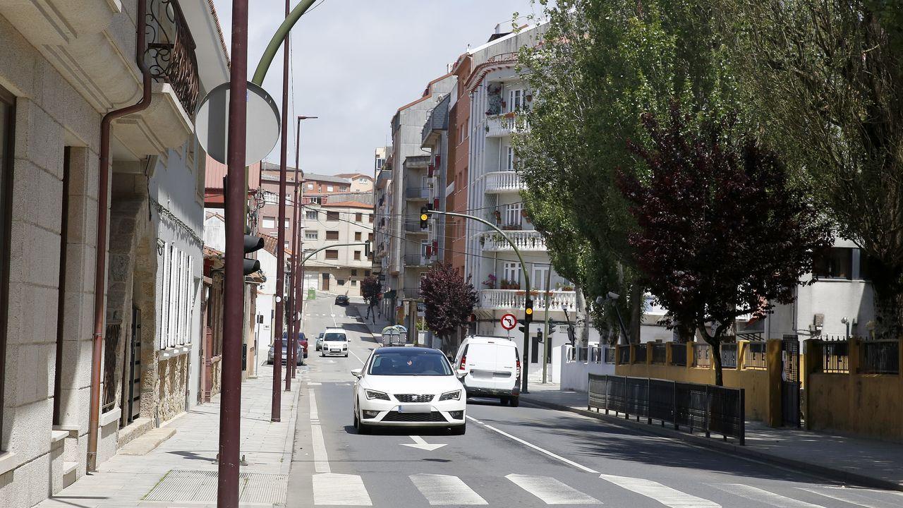 Desde el inicio del confinamieto se redujo el tráfico de vehículos en los cascos urbanos de la comarca