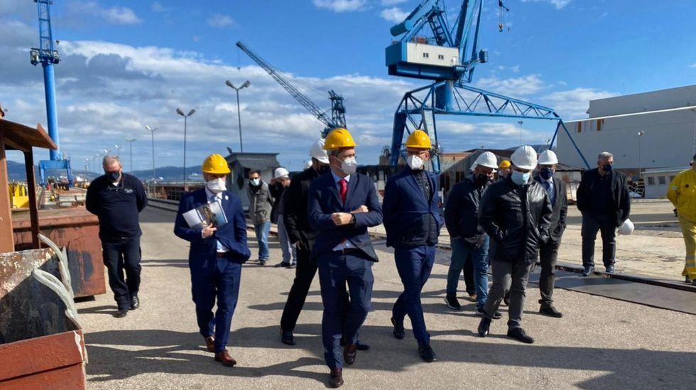 Operaciones en las máquinas reductoras para las corbetas saudíes en la fábrica de turbinas de Ferrol