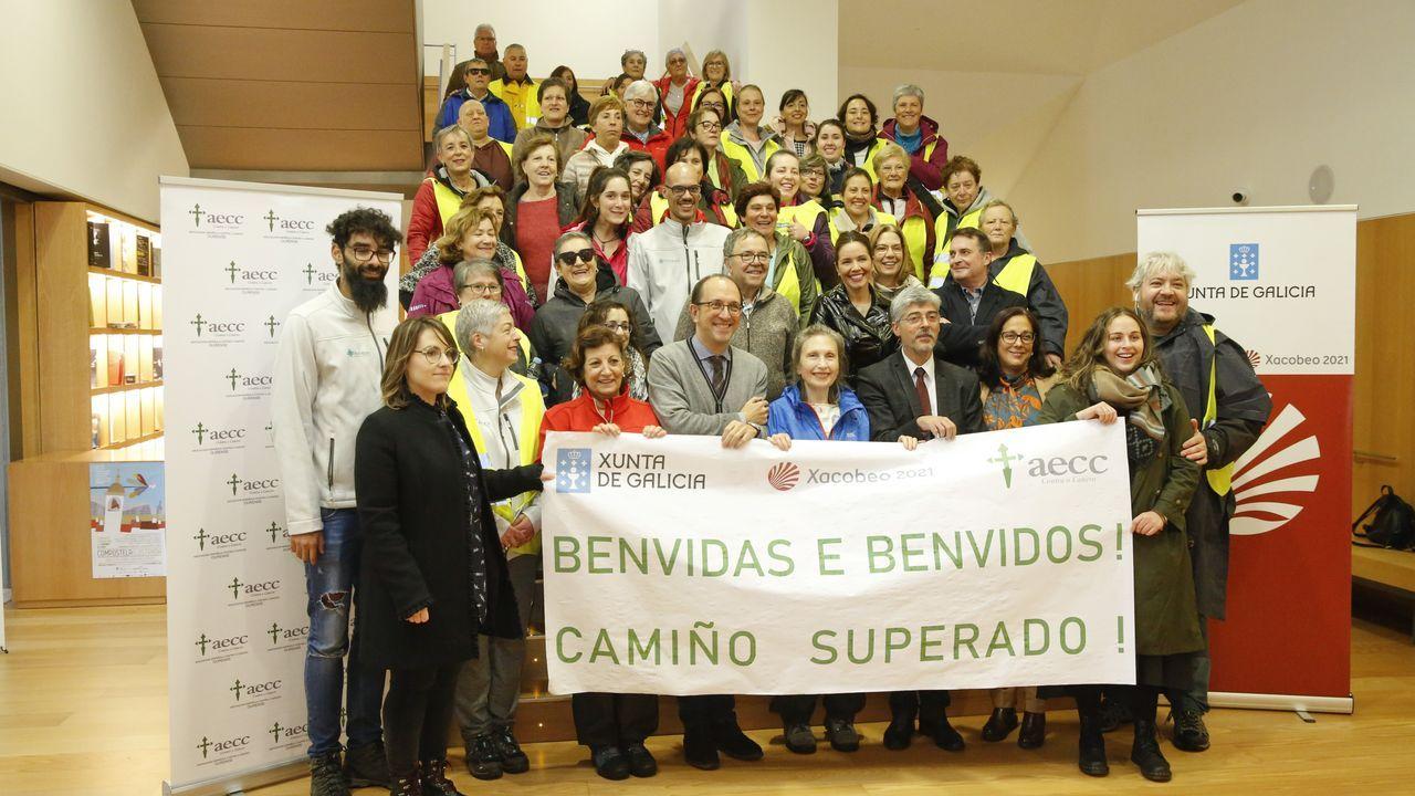 Encuentro de escritores en la Fundación Cela, en Iria Flavia, Padrón