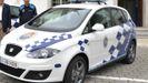 Imagen de archivo de un coche de la Policía Local de Cambre