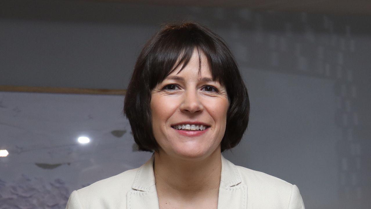 Ana Pontón, portavoz nacional del BNG, en el espacio Pensar Galiza