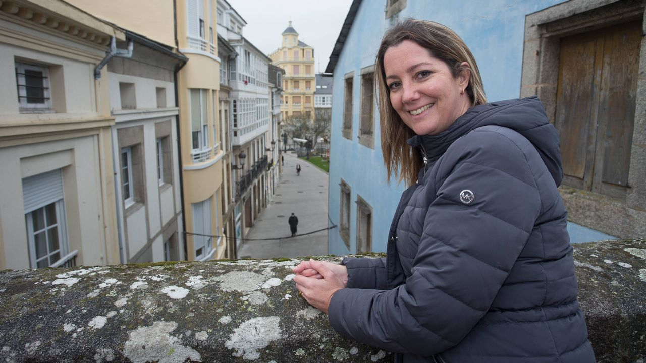 Lara Méndez, alcaldesa de Lugo