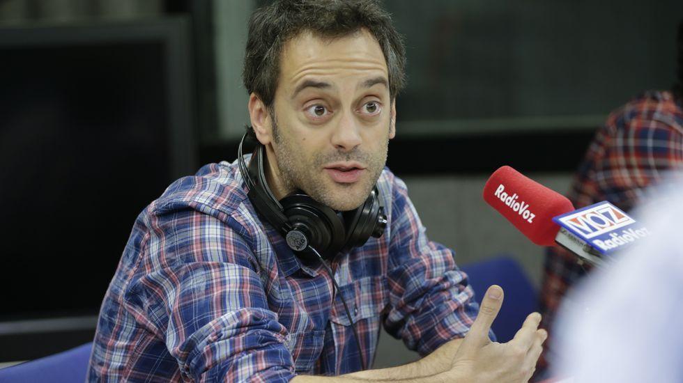 Xulio Ferreiro en Radio Voz
