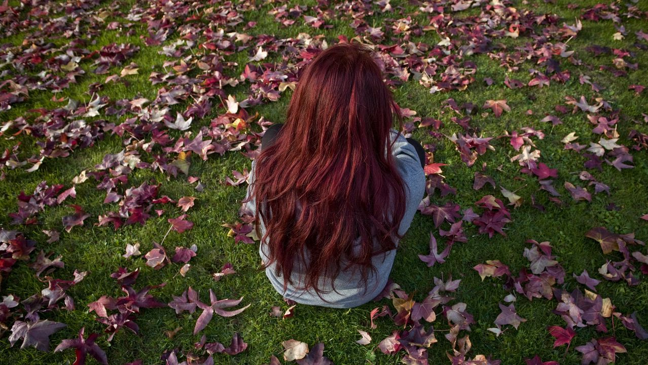 Llega el otoño a los árboles de la ciudad Parque de Vioño