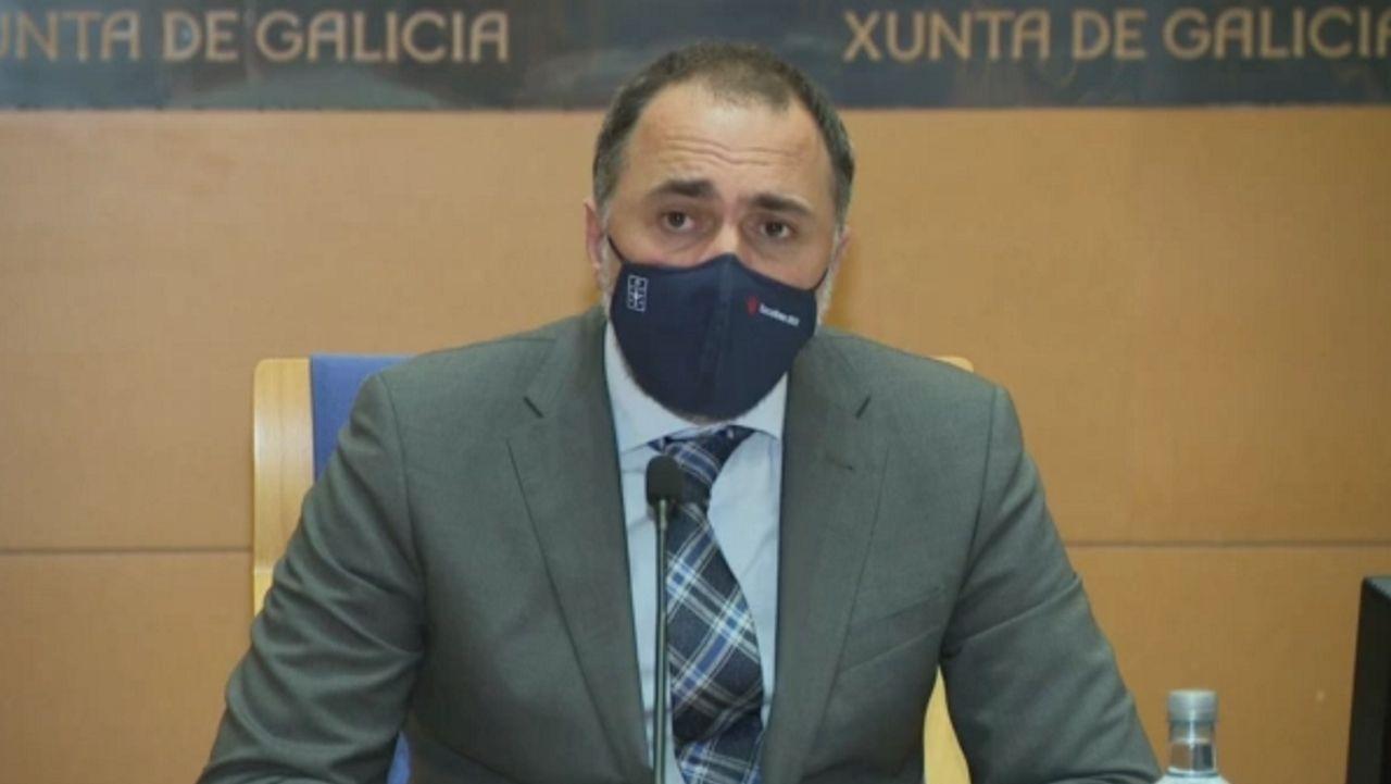 En directo   El conselleiro de Sanidade explica los cambios en las restricciones en Galicia.Una de las plantas de Biofabri, filial del grupo Zendal, en O Porriño (Pontevedra)