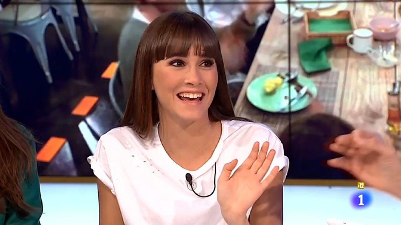 Aitana Operación Triunfo.Un fotograma de «Bailando con las estrellas», que estrenó la BBC y se ha exportado a 55 países. Llega a España de la mano de TVE