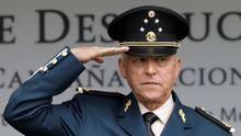 El general Salvador Cienfuegos, en el 2016, cuando estaba al frente de la Secretaría de Defensa de México