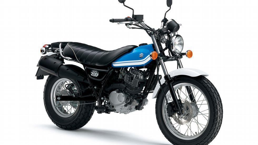 Suzuki VanVan 200, la «fun bike»